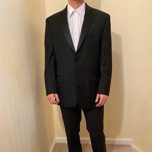 Black Calvin Klein Tuxedo